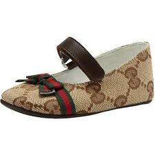 $175 NIB GUCCI 17 1.5 3-6 MONTHS BABY SHOES MARILYN MARY JANE GG GUCCISSIMA SAKS