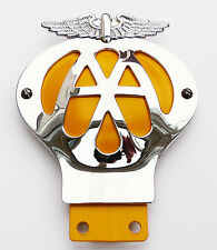 Reproduction Vintage AA Badge Automobile Association Classic Car Badge, Mini MG