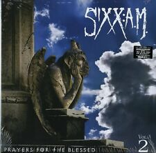 SIXX: A.M. PRAYERS FOR THE BLESSED VOL. 2 VINILE LP COLORATO NUOVO SIGILLATO !
