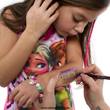 Kinder Notfall Nummer Tattoo - Child Lost Tattoo - Kinder Tattoo für Ausflüge