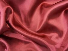 SILKY SATIN FABRIC per METRE Plain Dress & Craft Material 150cm Wide 28 colours
