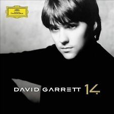 "DAVID GARRETT ""14"" brand new CD The ""Lost"" Album Rediscovered issued at last"