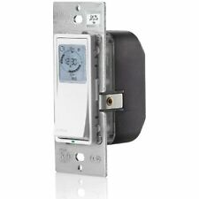 Timer Switches Leviton VPT24-1PZ Vizia 24-Hour Programmable Indoor Timer with