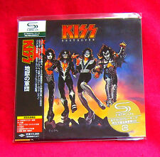 KISS DESTROYER JAPAN AUTHENTIC SHM MINI LP CD NEW OUT OF PRINT UICY-93655