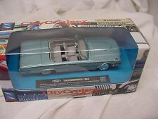 1966 FORD THUNDERBIRD DIECAST 1/43 T-BIRD CITY CRUISER NEW CONVERTIBLE NEW RAY