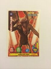 DOCTOR WHO- ALIEN ARMIES- TRADING CARD GAME- 032-KRILLITANE- MINT