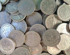 500 Coins LOT - 1960 1961 1962 1963 1964 1967 1968 1969 1970 -  Nickel 50 Paise