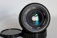 IMAGE MC 28 MM 1:2.8 MACRO WIDE ANGLE LENS PENTAX PK FIT GOOD CONDITION (USED)