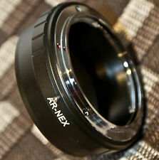 Konica AR Lens to Sony NEX Alpha E mount adapter ring Auto-Reflex Autorex