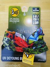 Buff Original Multifunctional Headwear UV , DeYoung   Rainbow Royal - NEW