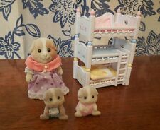Calico Critters Sylvanian Families Triple Bunk Bed plus Guinea Pigs **UPDATED**