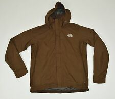 North Face Men's GORE-TEX PacLite Shell Water Proof Out Hooded Jacket Coat Sz M