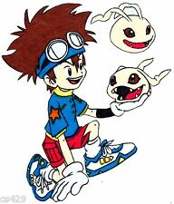 """9"""" DIGIMON ANIME CHARACTER WALL SAFE FABRIC DECAL CUT OUT"""