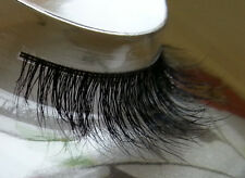 100% Real Natural 3D Horse Hair False Hand Lilly Lashes Flutter Celeb Mink N04