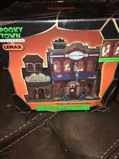 Lemax Spooky Town Collection Lighted House Dragon's Breath Costume Shop 2000