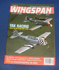 WINGSPAN MAGAZINE MAY 1995 - YAK RACING WITH THE RED STARS RACE TEAM