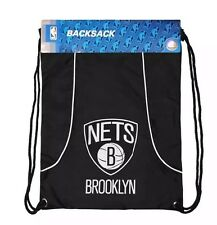 Brooklyn Nets NBA AXIS BackSack BRAND NEW OFFICICIALLY LICENSED