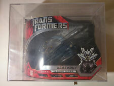super rare AFA 9.25 Transformers 2008 Blackout premium series   with Scorponok