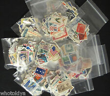 VINTAGE BULK LOT OF 50 USA Postage Stamps Off Paper NICE COLLECTION whotoldya