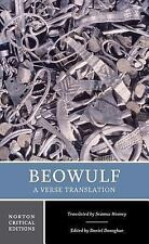 Beowulf: A Verse Translation (Norton Critical Editions), , Acceptable Book