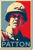 GEORGE S. PATTON - HOPE POSTER - PHOTO PRINT ORIGINAL ART GIFT