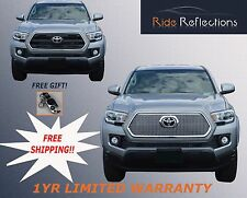 Fits 2016-2017 TOYOTA TACOMA MESH OVERLAY GRILLE!!