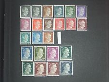 Germany (Adolf Hitler) stamps all mint (i do combine p&p) 3