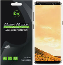 2-Pack Dmax Armor Samsung Galaxy S8 Full Screen Coverage Clear Screen Protector