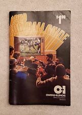 1979 Football Guide (NFL & NCAA) Owens-Illinois - VERY RARE FIND!!