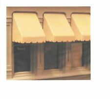 "City Classics-HO Scale -- #937 Window Awnings (Pkg of 12) 3/8"" Wide - NIB"