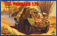 PANHARD 178 W/APX-3 TURRET (FRENCH ARMY 1940 MKGS) 1/72 RPM  RARE!