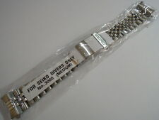 NEW 20MM SEIKO JUBILEE MEDIUM FOLDED BRACELET FOR DIVER'S 7S26, SKX013K2 SKX013