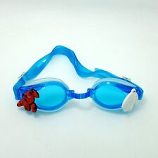 Blue Anti-Fog Silicone Swimming Diving Goggle+Charms Big Hero 6 Kids Gifts