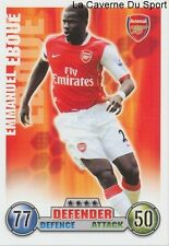 EMMANUEL EBOUE  # IVORY COAST ARSENAL.FC CARD PREMIER LEAGUE 2008 TOPPS