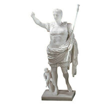Roman Augustus Octavian of Prima Porta Statue Replica Reproduction 11.5""