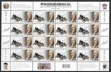 Canada Stamps -Full Pane of 16 -Robert Samuel McLaughlin Carriage Co. #2284 MNH