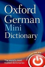 NEW - Oxford German Mini Dictionary by Oxford Dictionaries