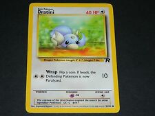 Pokemon Team Rocket Set COMMON Dratini 53/82 - NM/M Condition