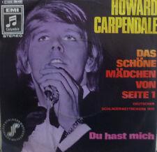 """7"""" 1970 VG+++ ! HOWARD CARPENDALE : Das schöne Mädchen von Seite 1"""