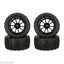 4X 1/10 Monster Truck Wheel Rim and Tire 8010 fr Traxxas HSP Tamiya HPI RC Car