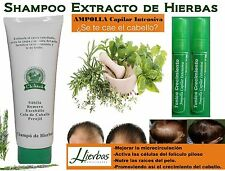1 HERBAL SHAMPOO +  2 HAIR GROWTH BOTTLES SIMILAR TO  Cre-C , Crece AND PPC-50
