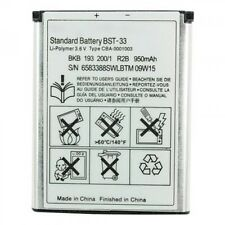 New High Quality BST-33 Battery For Sony Ericsson K800 W880i W300i W960i K530