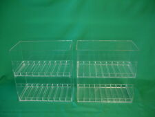 "2 Display Cases for E-Juice, E-Cigarette, E-liquid,  Holds 180 bottles, 1"" Slot"