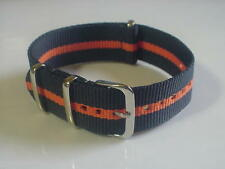 Skunk Bond NATO British MOD Military 22mm strap band fits  ZULU Time watch &more
