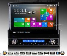 "AUTORADIO 7"" GPS UNIVERSALE 1 DIN HD 3G WIFI USB SD NAVIGATORE COMANDI VOLANTE"