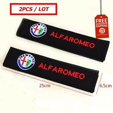 Free shipping 2pcs car-styling Seat belts cover all cotton case for alfa romeo