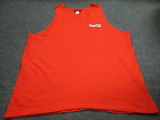 VINTAGE EVERYTHING COCA COLA RED TANK TOP T-SHIRT SIZE XL