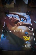 GUERLAIN SHALIMAR BRENDA COSTA Giant 4x6 ft D/S Original Advertising Poster 2004