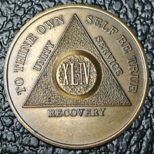 RECOVERY PROGRAM TOKEN - To Thine Own Self Be True - 44 Years - Nice