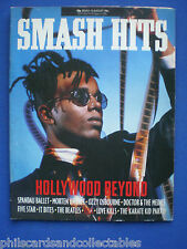 Smash Hits - 30th July 1986 - Hollywood Beyond, The Beatles, Morten Harket